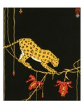 Illustration of Leopard by Maxwell Armfield