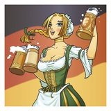 German Barmaid
