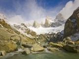 Mountain Stream Rapids in Los Glaciares National Park
