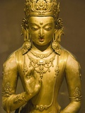 Detail of Bronze Boddhisatva by Zanabazar
