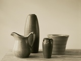 Vases and Pitcher