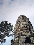 Stone Sculpture in Angkor  Cambodia