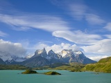 Cuernos del Paine Peaks Above Lago Pehoe