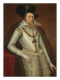 Portrait of James I of England