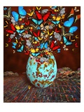 Butterflies Fly Out Through the Crack in the Egg