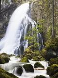 Golling Waterfall in Autumn