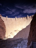 Dramatic light on the Hoover Dam