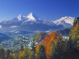 Berchtesgaden and Mount Watzmann