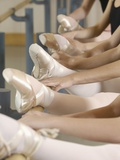 Ballerinas at the barre