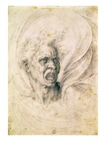Head of a Man Shouting