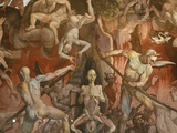 Detail of Hell from Last Judgment  Fresco Cycle