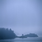 Coastal Islands in Fog