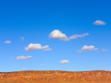 Small Cumulus Clouds Above Vermilion Cliffs