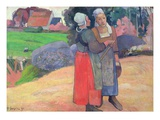 Breton Peasant Women
