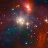 Infrared Image of the Coronet Cluster
