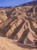 USA  California  Death Valley National Monument  Zabriske Point  Erosion Patterns in Sandstone