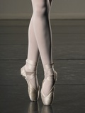 Ballerina en pointe