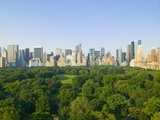 View of Central Park Southwest from Hot Air Balloon