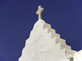 Cross on Top of Gable