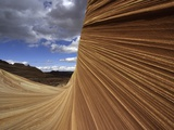 The Wave sandstone formation in Coyote Buttes