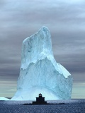 Iceberg  Witless Bay   Newfoundland  Canada