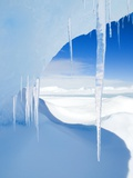 Antarctic Icicles  Snow Hill Island  Weddell Sea  Antarctica