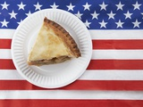 Patriotic apple pie