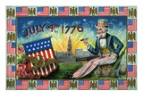 July 4th 1776 with Uncle Sam