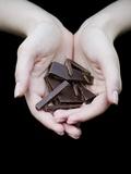 Handful of Dark Chocolate