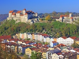 Village Burghausen  Germany