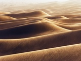 Dunes at Erg Awbari during sand storm