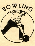 Man bowling