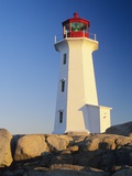 Peggy's Cove Lighthouse  Peggy's Cove  Nova Scotia  Canada