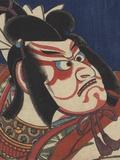 Detail of Two Kabuki Actors