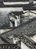 Tiled roof in Xidi  China