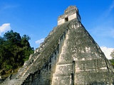 Temple I  The Great Plaza  Tikal National Park  Peten  Guatemala