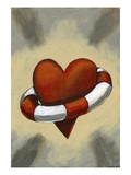 Heart Wrapped In Life Preserver