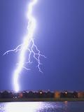 Lightning Striking an Apartment Complex