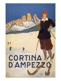 Cortina d&#39;Ampezzo poster