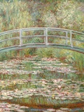 Bridge over a Pond of Water Lilies Giclée par Claude Monet