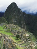 Machu Picchu Unesco World Heritage Site  Urubamba Valley  Peru