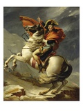 Napoleon Crossing the Alps on 20th May 1800