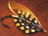 Hand Tied Atlantic Salmon Fishing Fly  British Columbia  Canada