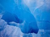Glacial Iceberg in Lilliehook Fjord in Svalbard