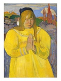 Young Christian Girl (Bretonne en Priere)