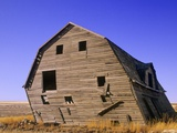 Abandoned Farm Buildings  Canadian Prairies  Canada