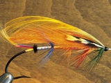 Atlantic Salmon Fly in Flytying Vise  Canada