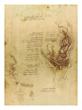 Study of coition of a hemisected man and woman by Leonardo da Vinci
