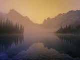 Lake O'Hara at Dawn  Yoho National Park  British Columbia  Canada