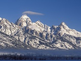 Banner Cloud on Summit of Grand Teton